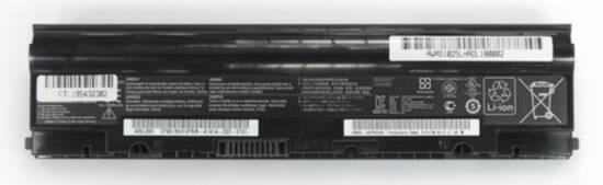 Batteria compatibile. 6 celle - 10.8 / 11.1 V - 5200 mAh - 57 Wh - colore NERO - peso 320 grammi circa - dimensioni STANDARD.