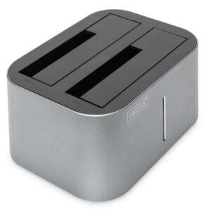 STAZIONE DOCKING DOPPIA USB 3.0 SATA 6G PER SATA HDD 2.5/3.5
