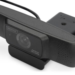 DIGITUS WEBCAM FULL HD 1080p CON AUTOFOCUS E GRANDANGOLO