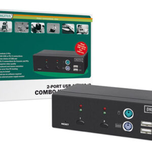 DATA SWITCH PER 2 PC (PS2 O USB) CON 1 MOUSE