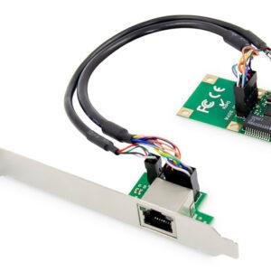 GIGABIT ETHERNET MINI PCI EXPRESS CARD SINGLE LANE