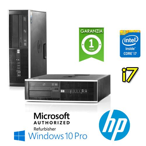 (REFURBISHED) PC HP Compaq 8100 Elite Core i7-860 2.8GHz 4Gb Ram 250Gb DVD Windows 10 Professional