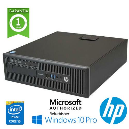 (REFURBISHED) PC HP EliteDesk 800 G1 SFF Core i5-4590 3.3GHz 8Gb 500Gb DVD-RW Windows 10 Professional
