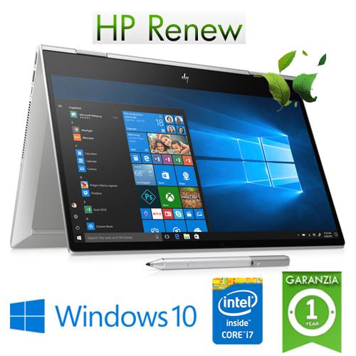 "(REFURBISHED) Notebook HP Envy X360 15-dr1029nl Core i5-10210U 16Gb 512Gb SSD 15.6"" FHD TS GeForce MX250 4GB Windows 10 HOME"