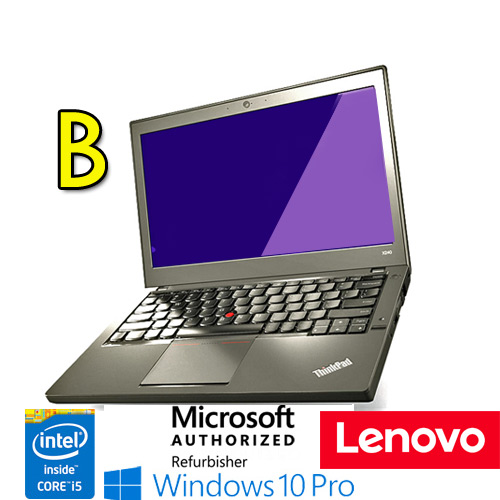 "(REFURBISHED) Notebook Lenovo Thinkpad X240 Core i5-4300U 8Gb 180Gb SSD 12.5"" Windows 10 Professional [GRADE B]"