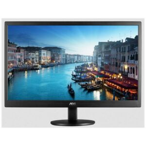 (REFURBISHED) MONITOR AOC LCD LED 19.5 WIDE E2070SWN 5ms 0.27 1600x900 600:1 BLACK VGA Vesa