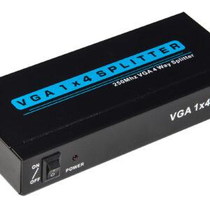 SPLITTER VGA 4 PORTE 250 MHZ