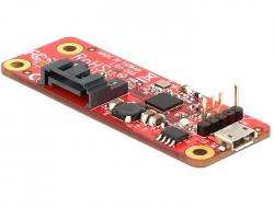 CONVERTITORE RASPBERRY PI USB MICRO B FEMMINA/USB PIN HEADER - SATA 7 POLI