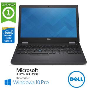 "(REFURBISHED) Notebook Dell Latitude E5570 Core i5-6300U 2.3GHz 8Gb Ram 500Gb 15.6""  Tast. Num. Windows 10 Professional"
