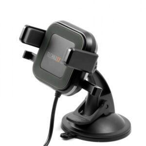 SUPPORTO SMARTPHONE DA AUTO CON CARICATORE WIRELESS 10 WATT
