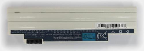 Batteria compatibile. 6 celle - 10.8 / 11.1 V - 4400 mAh - 48 Wh - colore BIANCO - peso 320 grammi circa - dimensioni STANDARD.