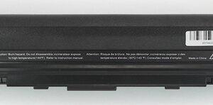 Batteria compatibile. 9 celle - 10.8 / 11.1 V - 6600 mAh - 73 Wh - colore NERO - peso 480 grammi circa - dimensioni MAGGIORATE.